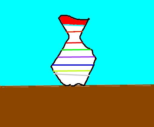 Vaso Colorido Desenho De Gabii302 Gartic