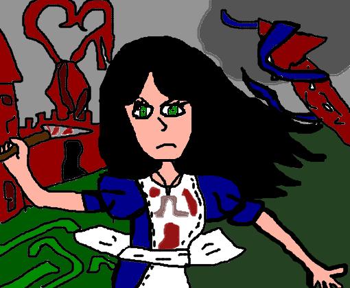 Alice Madness Returns Desenho De Gabiino Gartic