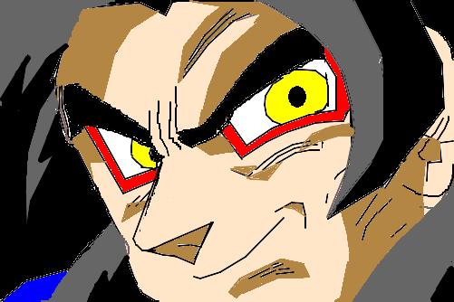 Goku Super Sayajin 4 Desenho De Gabriel Diniz Gartic