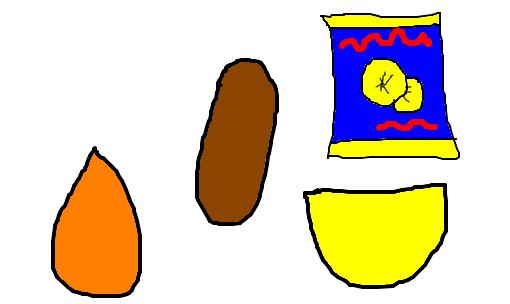 salgadinho desenho de gabrielaugusto gartic