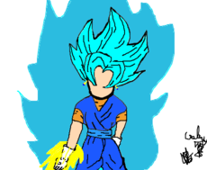 Vegetto SSGSS Bajiti Sword