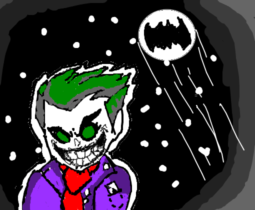 coringa cartoon