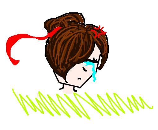 Anime Garota Triste Desenho De Gamerhd0808 Gartic