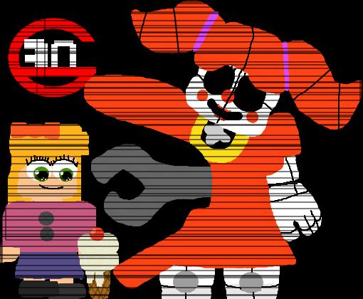 Mini-Game FNaF SL Remasterized - Desenho de garotinho ...