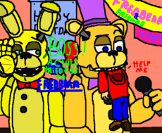 Tried Kiss To Fredbear! -G30-