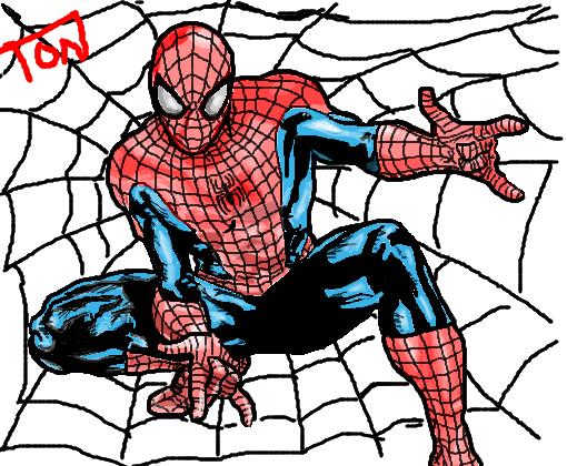 Homem Aranha Desenho De Garticoide T95 Gartic