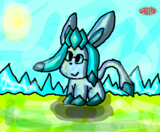 Glaceon p/concurso do Soabble