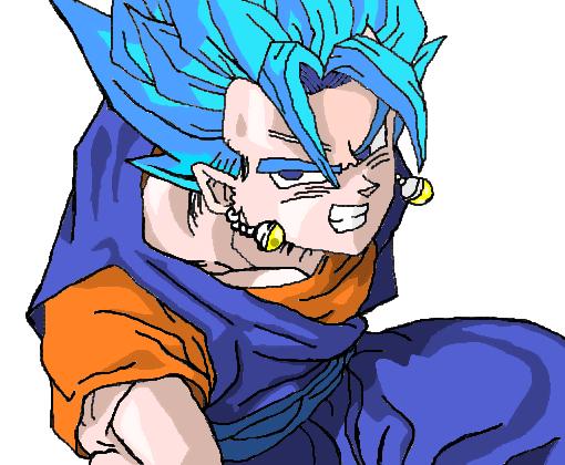 Vegito God Dragon Ball Super Desenho De Geladeira1994
