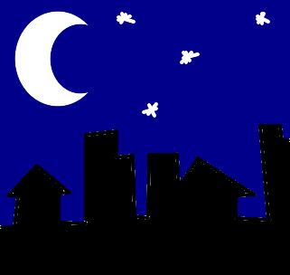 Noite Desenho De Ggralato Gartic