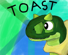 Toast! the Carnotaurus