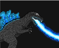 Godzilla 2001 (atomic breath)