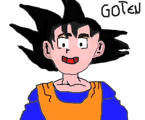 Goten Dragon Ball Z Desenho De Gotenksssj Gartic
