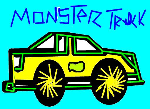monster truck desenho de guga110 gartic