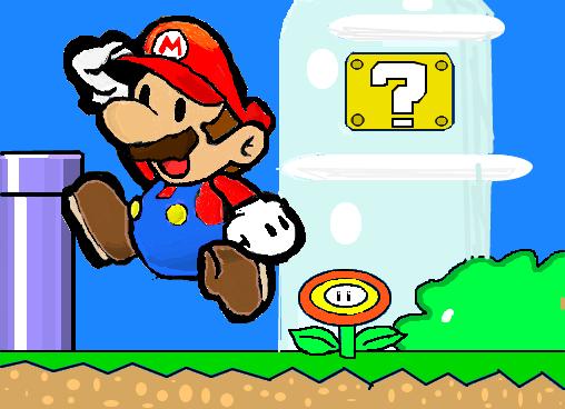 Super Mario Desenho De Guilherme Yaay Gartic