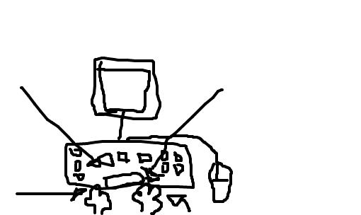 Resultado de imagem para digitador desenho