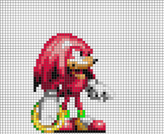Kuckles The Echidna (32X)