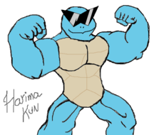 Squirtle monstrão