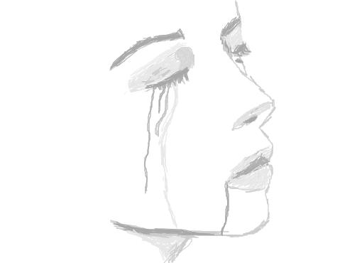 Ela Sofre De Saudade Desenho De Henriki Gartic
