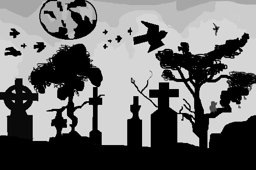 cemitério desenho de heroiana gartic