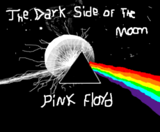 Bicho pregui a desenho de stefy gartic for Dark side of the moon mural