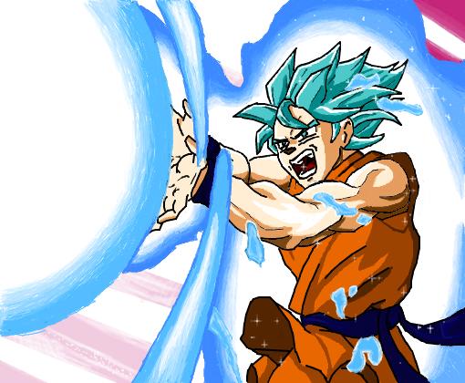 Son Goku - Desenho de hintou - Gartic