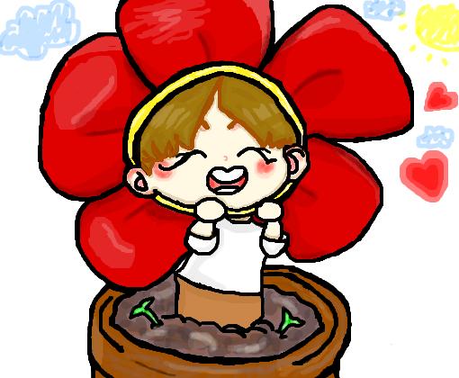 J-Flower - Desenho de hoseoka_bts - Gartic | 510 x 420 png 86kB