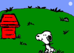 Snoopy no gartic