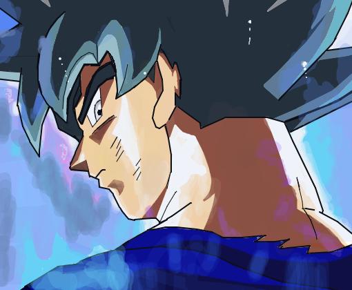 Goku Instinto Superior Desenho De Icdns Gartic