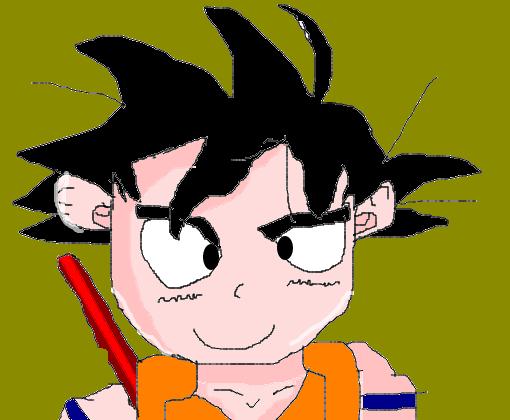 Goku Crianca Desenho De Icomde Gartic