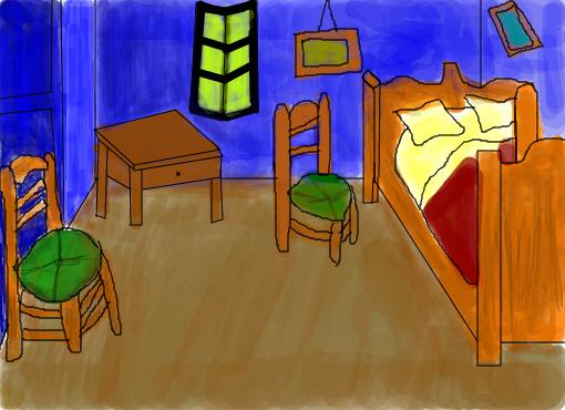 Desenho No Quarto ~ O Quarto Van Gogh Desenho de isadora303 Gartic