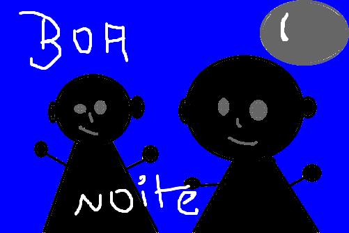 Desenho De Boa Noite: Desenho De Ishizaka_juh