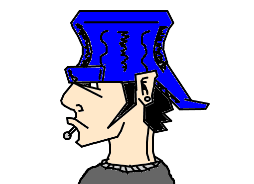 skatista desenho de iurilol gartic