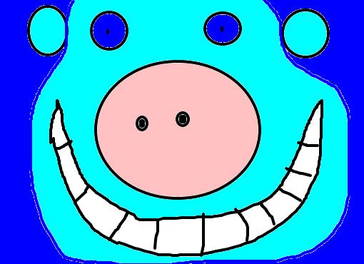 porquinho desenho de iurizinho111 gartic