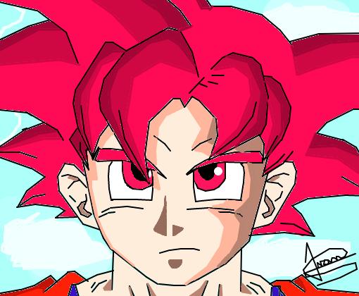 Goku Deus Super Sayajin
