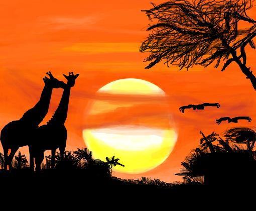 Fotos de paisagens com animais 25