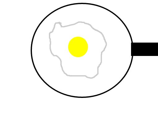 ovo frito desenho de jessyekinha gartic