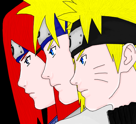 Naruto Minato Amp Kushina Desenho De Jessykagamer Gartic