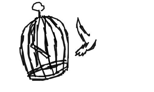 Resultado de imagem para gaiola desenho