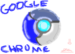 Símbolo do Google Chrome diferente =D