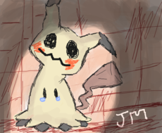 """A wild Mimikyu appeared!"""