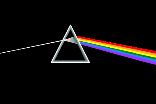 Pink floyd the dark side of the moon desenho de for Dark side of the moon mural
