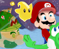 Super Mario Galaxy P: Micaf22