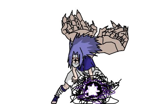 sasuke selo nível 2 chidori - Desenho de junin174 - Gartic