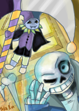 Sans Vs Jevil