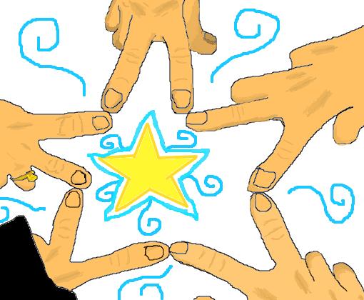 Estrela Da Amizade - Desenho de kaicinfinity - Gartic