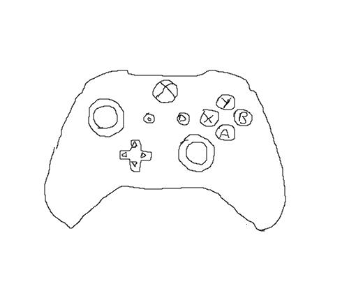 Controle Xbox 360 Desenho De Kaio Eo 11 Gartic