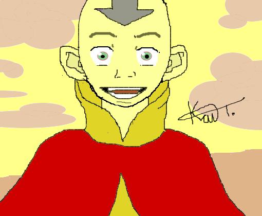 Avatar Aang Desenho De Kait Somente Gartic