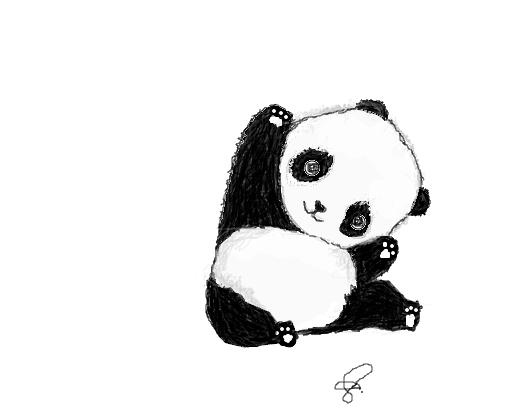 Muito Panda Draw - Desenho de kassuy - Gartic SO34