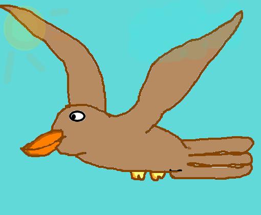 Passaro Voando Desenho De Kawaii 01 Gartic