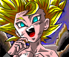 Caulifla Super Sayajin 2